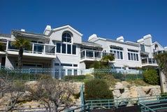 古典美国房子在达讷论点-橘郡,加利福尼亚 库存图片