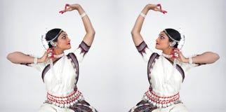 古典舞蹈演员女性印地安人 免版税库存图片