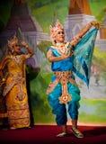 古典舞蹈缅甸 免版税图库摄影
