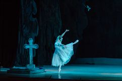 古典芭蕾吉赛尔 图库摄影
