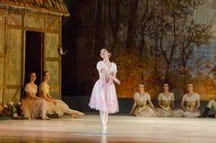 古典芭蕾吉赛尔 库存照片