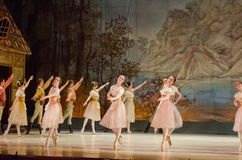 古典芭蕾吉赛尔 库存图片