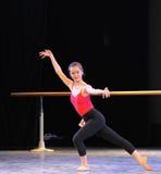 古典芭蕾基本的技巧基本的舞蹈培训班 库存图片