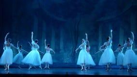 古典芭蕾空气的精灵 股票录像