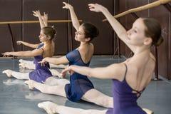 古典芭蕾舞蹈艺术 库存照片