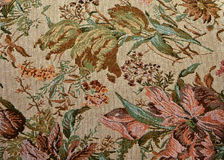 古典花卉华丽模式挂毯 免版税图库摄影