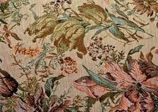 古典花卉华丽模式挂毯 免版税库存照片