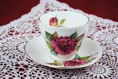 古典茶杯 图库摄影