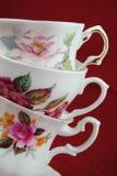 古典茶杯 免版税库存图片