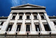 古典门面 免版税库存照片