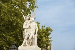 古典雕塑在柏林 库存图片