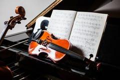 古典音乐场面 库存图片