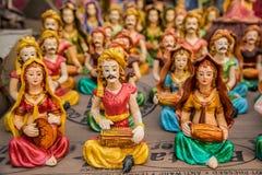 古典音乐家玩偶 免版税图库摄影
