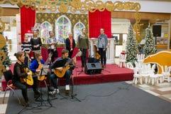 年轻古典音乐音乐会 库存图片