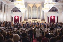 古典音乐音乐会 库存照片