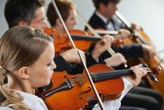 古典音乐:音乐会 免版税图库摄影