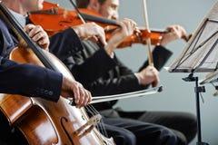 古典音乐:音乐会 库存照片