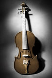 古典音乐仪器小提琴 免版税库存图片