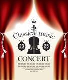 古典音乐 库存例证