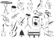 古典音乐 皇族释放例证