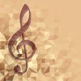 古典音乐backhround 向量例证