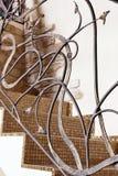 古典马赛克台阶装饰元素设计 库存照片