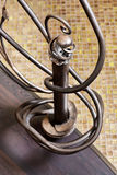 古典马赛克台阶装饰物元素 库存图片