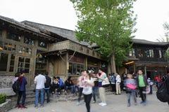 古北水镇,密云县,北京,中国 免版税库存图片