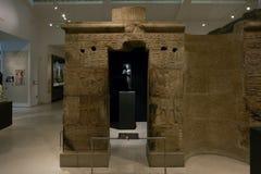 古埃及和苏丹, Ashmolean博物馆的画廊 免版税库存图片