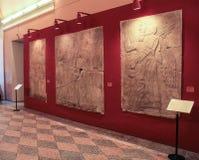 古埃及的Pano 库存照片