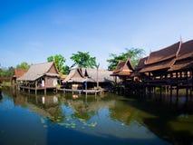 古城在萨穆特Prakan 图库摄影