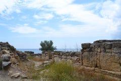 古城的挖掘 库存照片