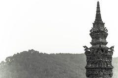 古墓的塔 免版税图库摄影