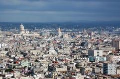 古巴哈瓦那地平线 免版税库存图片