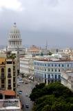 古巴哈瓦那葡萄酒 库存照片