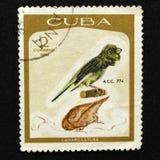 古巴岗位的标记 免版税库存照片