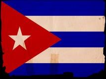 古巴标志老葡萄酒 免版税库存照片