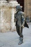 古巴法国人哈瓦那公共雕塑 免版税库存照片