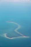 古巴海岛 库存图片