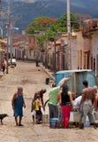 古巴特立尼达卡车水 库存图片