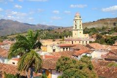 古巴特立尼达 免版税库存照片