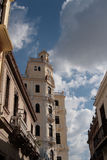 古巴门面 库存照片