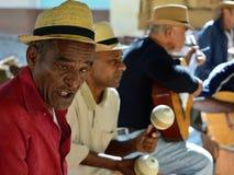 古巴音乐 库存图片