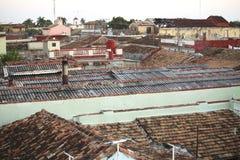 古巴顶房顶特立尼达 免版税库存图片