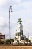 古巴,哈瓦那- 2017年5月5日:纪念碑的看法对安东尼奥马塞奥的 复制文本的空间 垂直 免版税库存照片