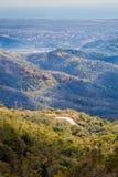 古巴,鸟瞰图的小山 库存照片