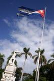 古巴marti雕象 库存图片