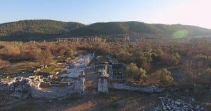 古希腊和古老罗马废墟在土耳其 影视素材