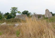 古希腊在塞瓦斯托波尔附近的Chersonesus Taurica在克里米亚 免版税库存图片