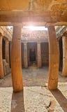 古希腊坟茔废墟在塞浦路斯 免版税库存图片